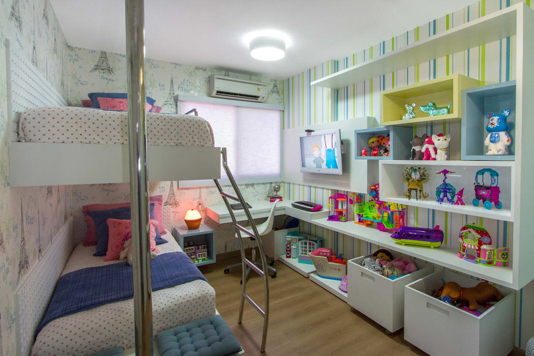 Quarto infantil, Maceió Alagoas Quarto infantil clássico por Cris Nunes Arquiteta Clássico
