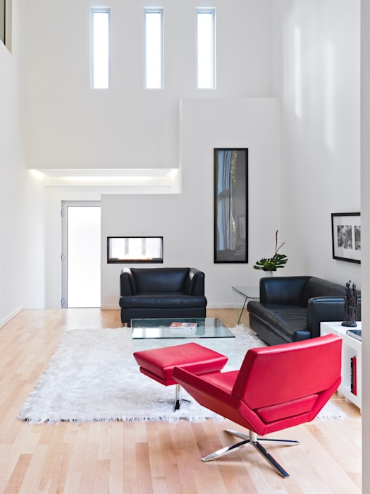 Lighthouse: modern Living room by Linebox Studio