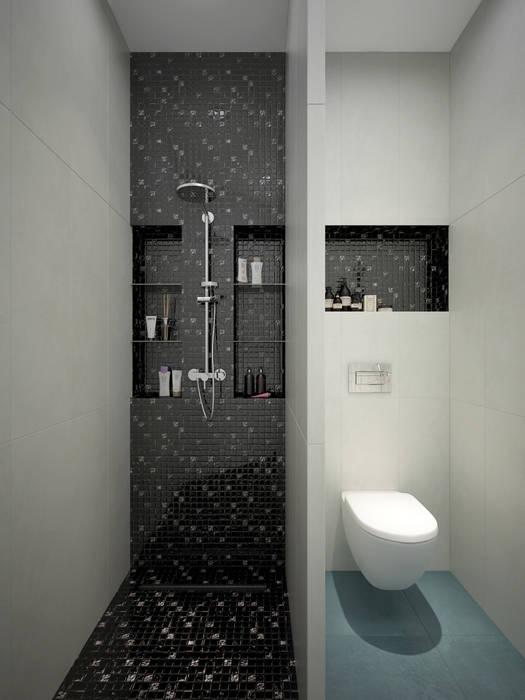 Ванные комнаты в . Автор – design studio by Mariya Rubleva, Модерн