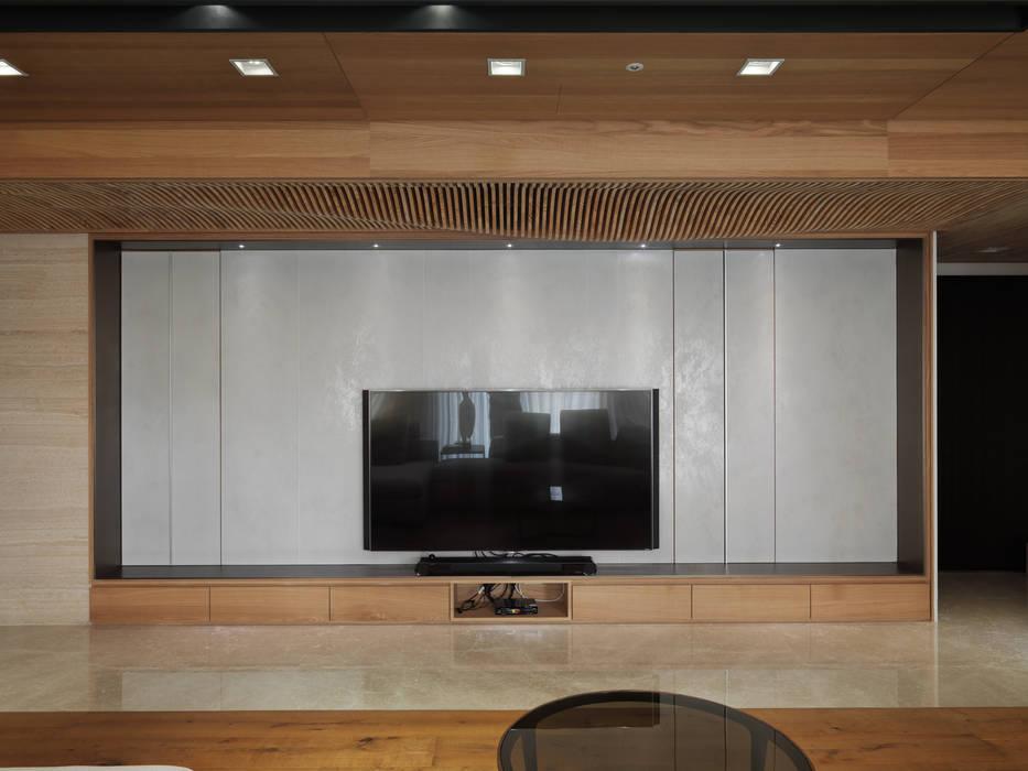 The Flow 现代客厅設計點子、靈感 & 圖片 根據 形構設計 Morpho-Design 現代風