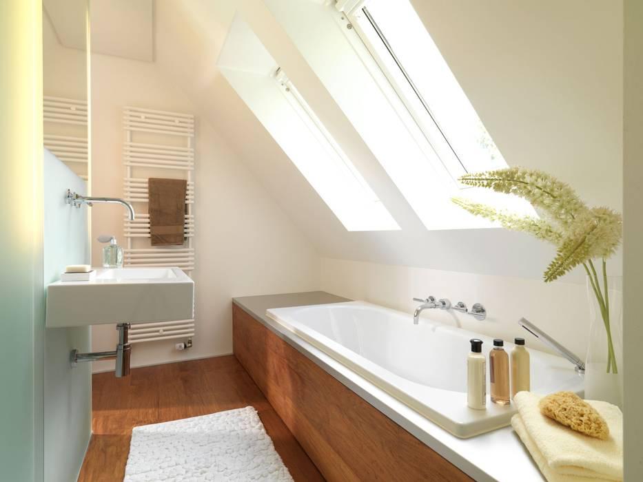 Badewanne unter dachschräge: badezimmer von grimm architekten bda ...