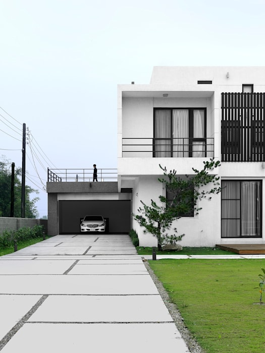 Casas modernas de 夏沐森山設計整合 Moderno