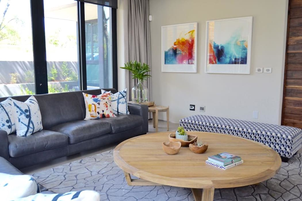 Residential - Steyn City :  Living room by Nowadays Interiors