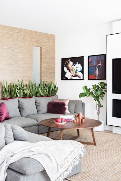 Modern New Home in Hampstead - lounge: modern  by Black and Milk | Interior Design | London, Modern