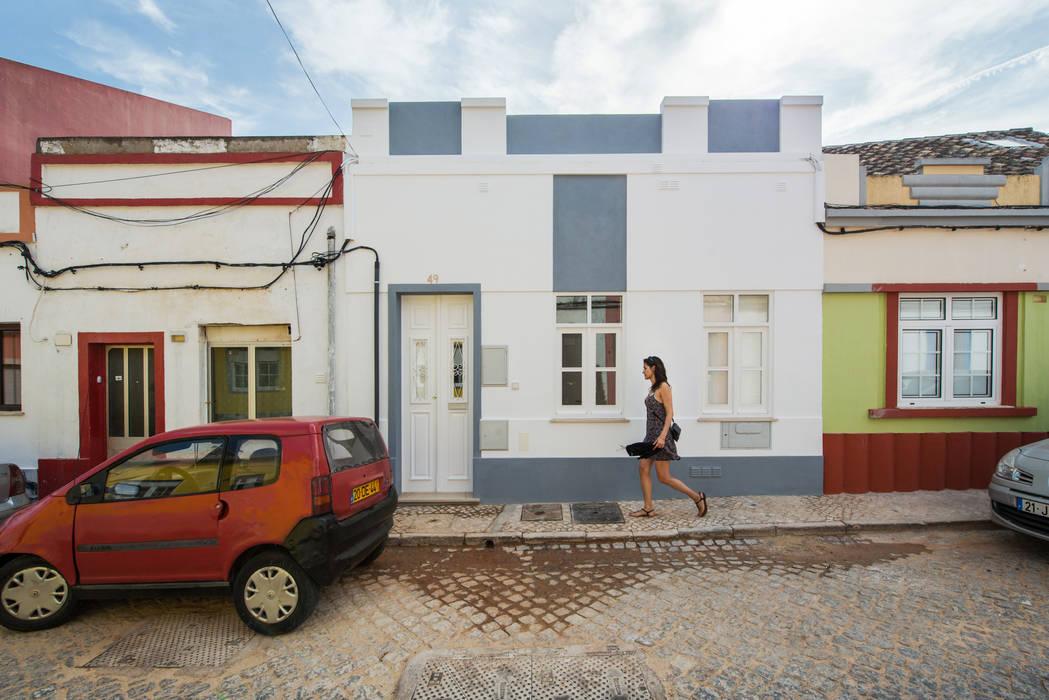 Häuser von studioarte, Minimalistisch Ziegel
