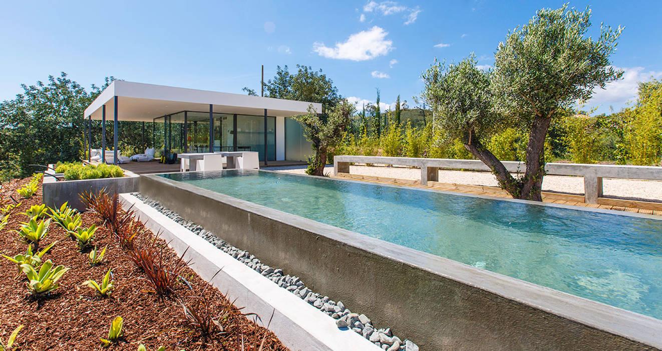 Nomad living container studioarte Modern Pool