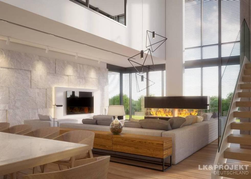 Ein Haus Für Das Perfekte Wohnglück Wohnzimmer Von Lkprojekt Gmbh