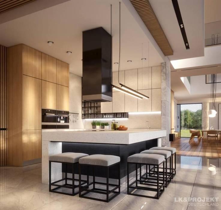 ein haus f r das perfekte wohngl ck k che von lk projekt gmbh homify. Black Bedroom Furniture Sets. Home Design Ideas