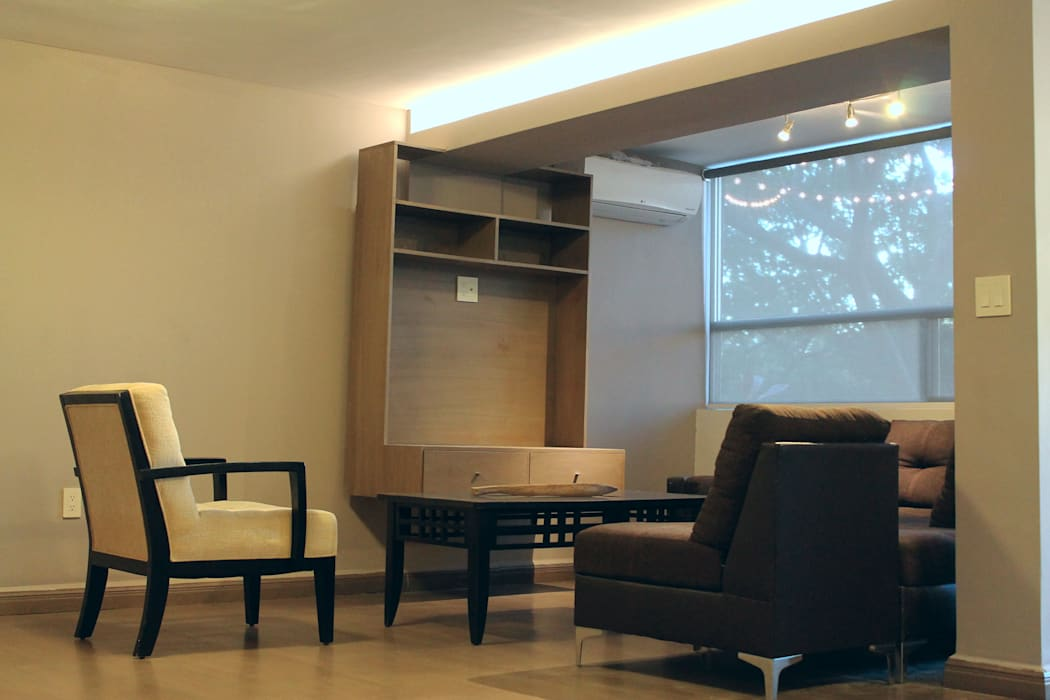 Living room by Superficie Actual, Modern