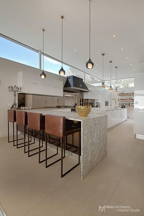 Hove Road :  Kitchen by Make Architects + Interior Studio