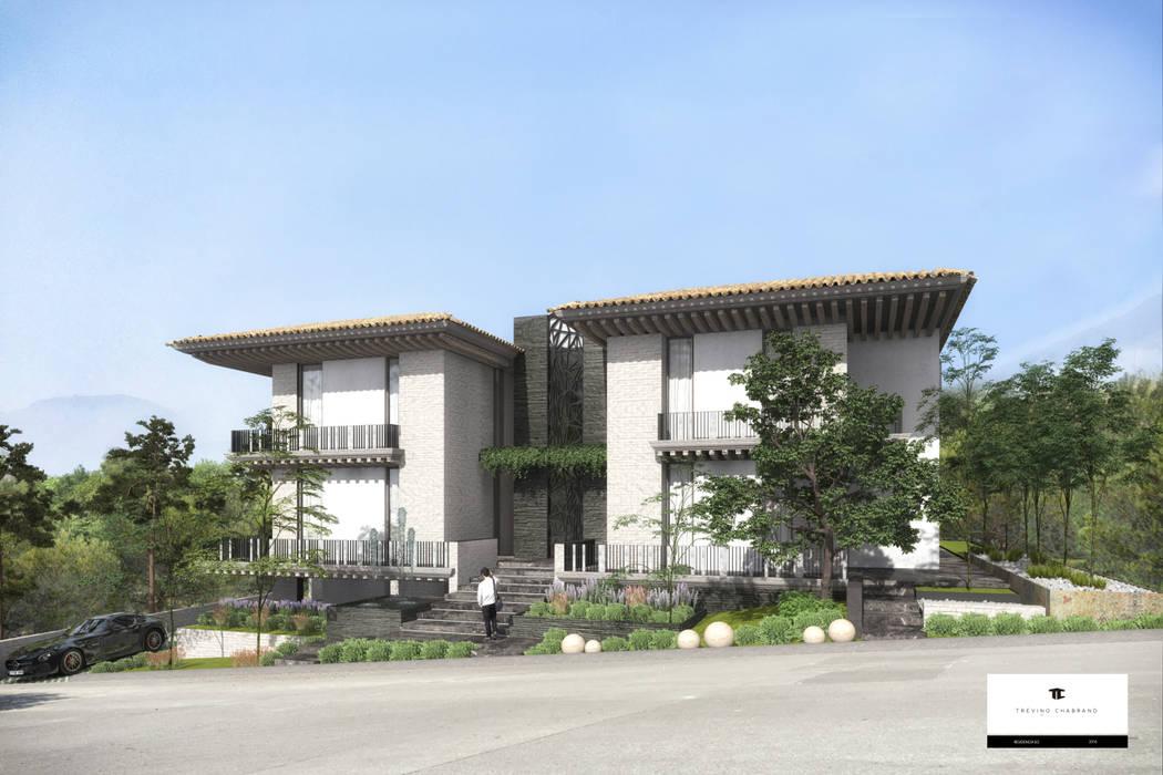 Klassische Häuser von TREVINO.CHABRAND   Architectural Studio Klassisch