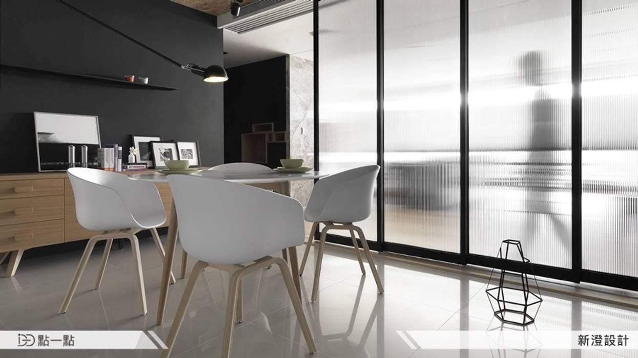 新澄室內設計 現代廚房設計點子、靈感&圖片 根據 homify 現代風
