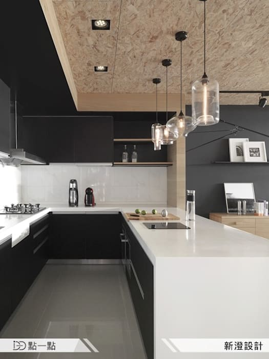 新澄室內設計:  廚房 by iDiD點一點設計