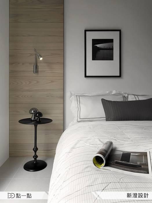 新澄室內設計:  臥室 by iDiD點一點設計