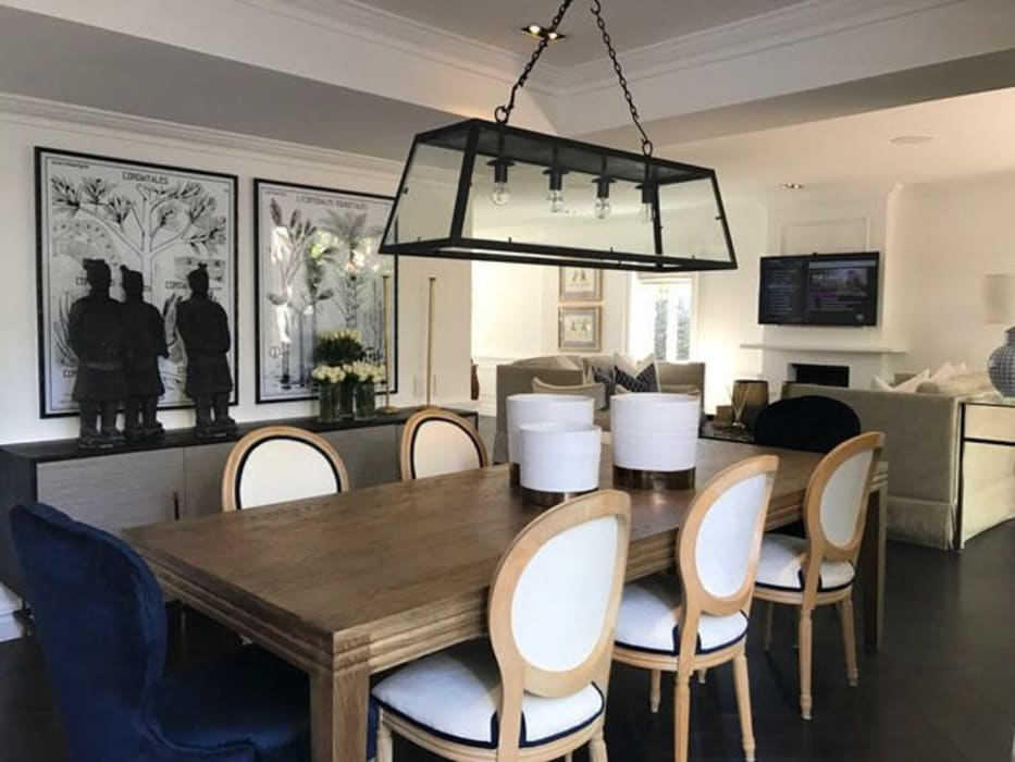 Dining Room:  Dining room by Holloway and Hound architecture and interiors