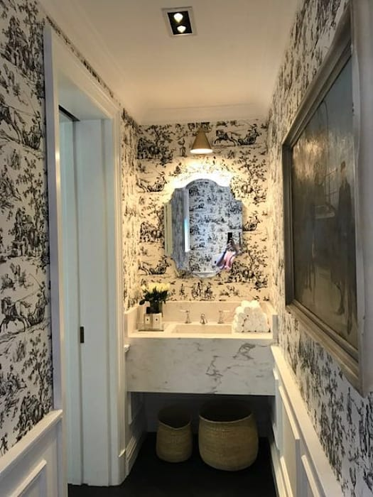 Guest Bathroom:  Bathroom by Holloway and Hound architecture and interiors