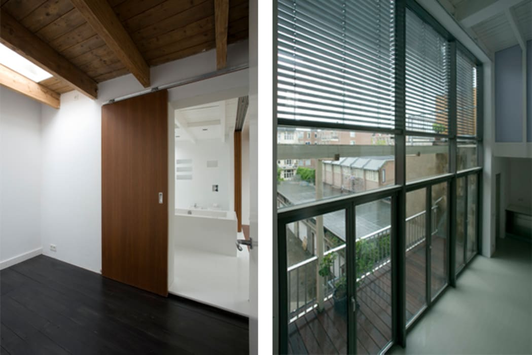 by Architectenbureau Filip Mens Modern Iron/Steel