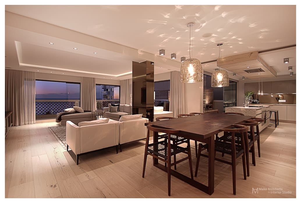Modern living room by Make Architects + Interior Studio Modern