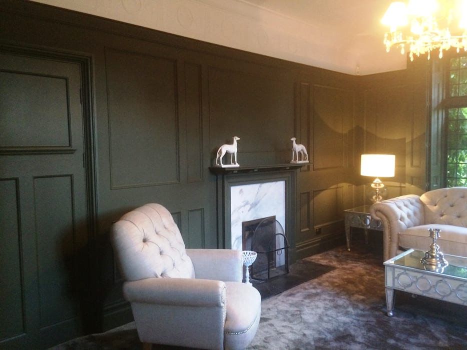 Living Room Wall Panelling By The Uk S Leading Experts Team