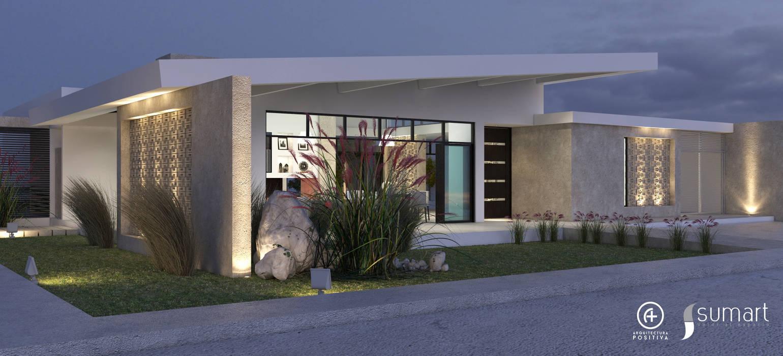 Casas de estilo  por Arquitectura Positiva , Ecléctico