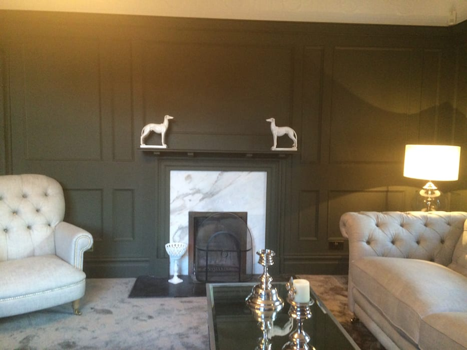 Wall Panelling For Living Room Clic