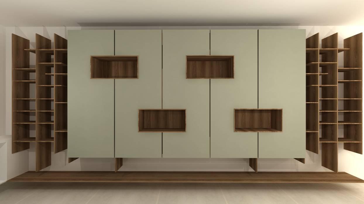 44e7b4b51 Design de mobiliário  escritório e loja por talita kvian