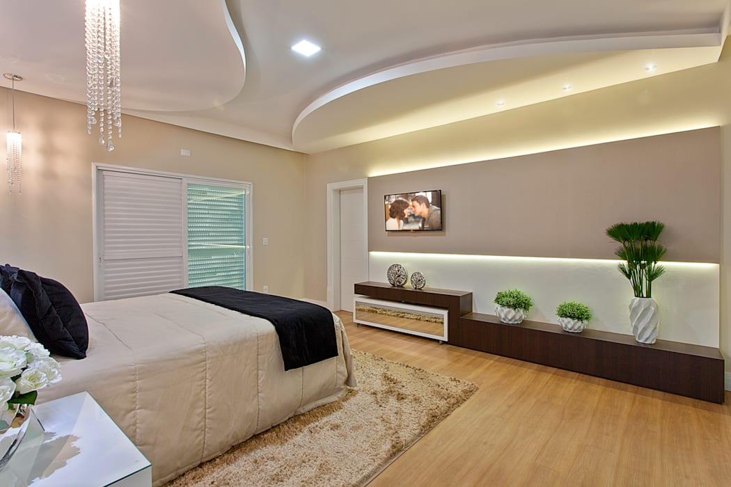Modern Bedroom by Arquiteto Aquiles Nícolas Kílaris Modern