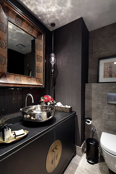 Esra Kazmirci Mimarlik:  tarz Banyo, Modern