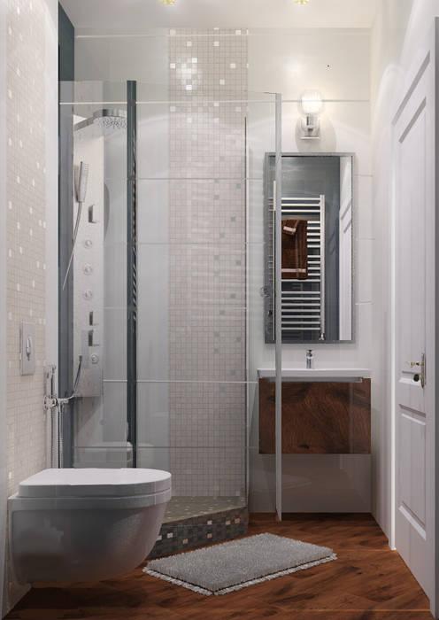 Minimalist style bathroom by Vera Rybchenko Minimalist Glass