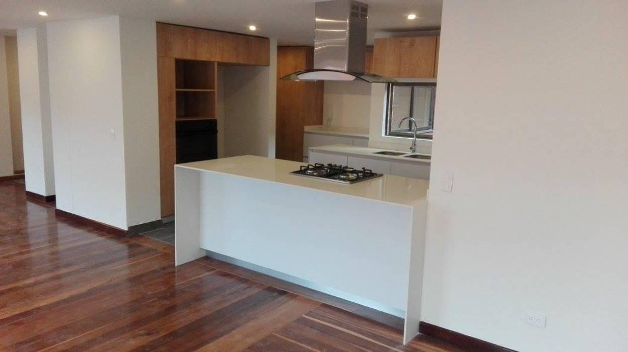 Moderne Küchen von estudio unouno Modern