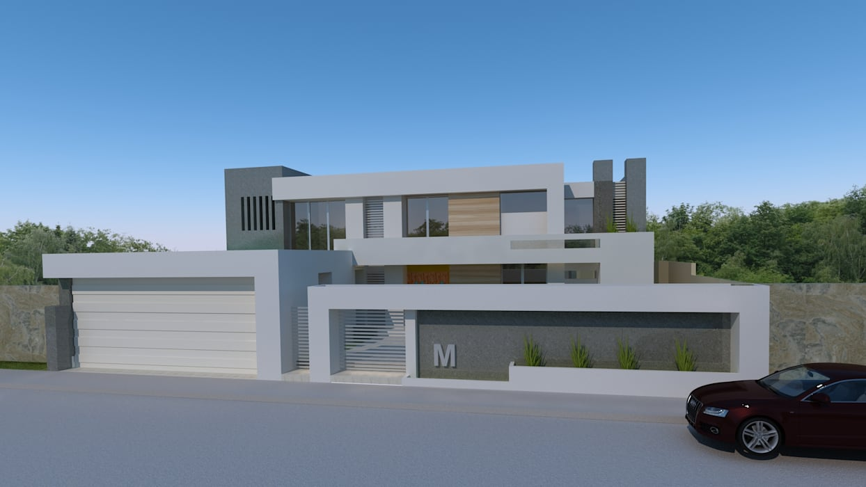 Minimalistyczne domy od CouturierStudio Minimalistyczny