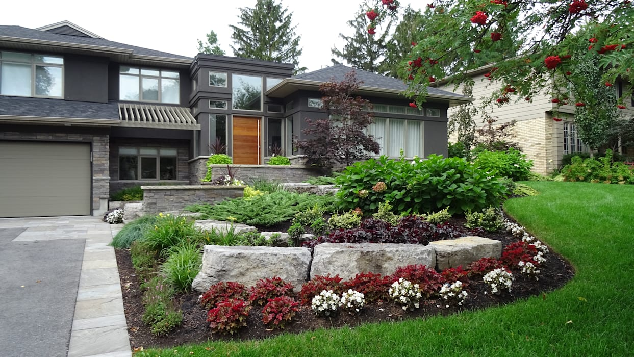 Casas modernas por Lex Parker Design Consultants Ltd. Moderno