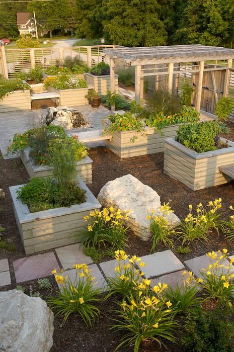 Jardins modernos por Lex Parker Design Consultants Ltd. Moderno
