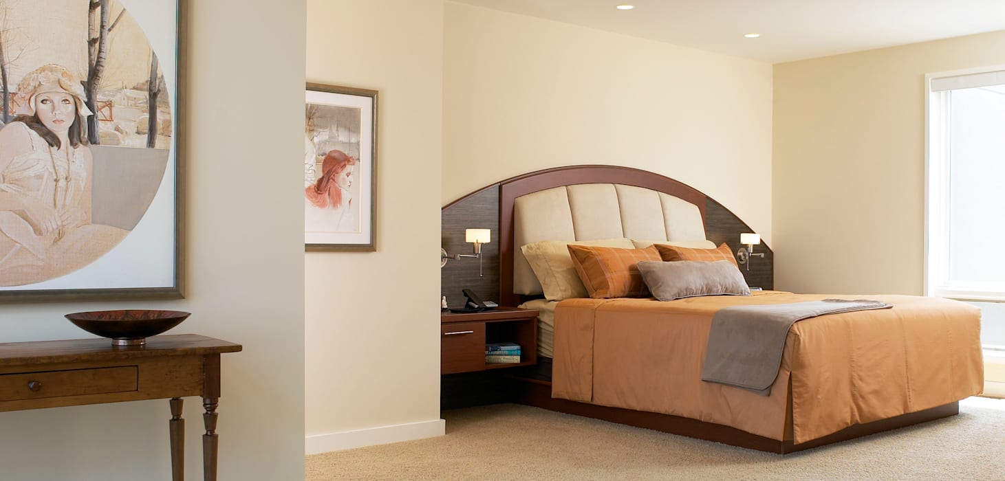 Benchscape:  Bedroom by Lex Parker Design Consultants Ltd.