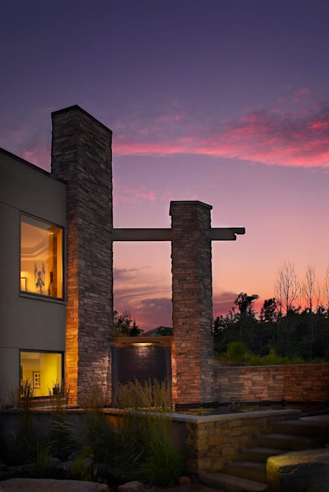 Benchscape Modern houses by Lex Parker Design Consultants Ltd. Modern