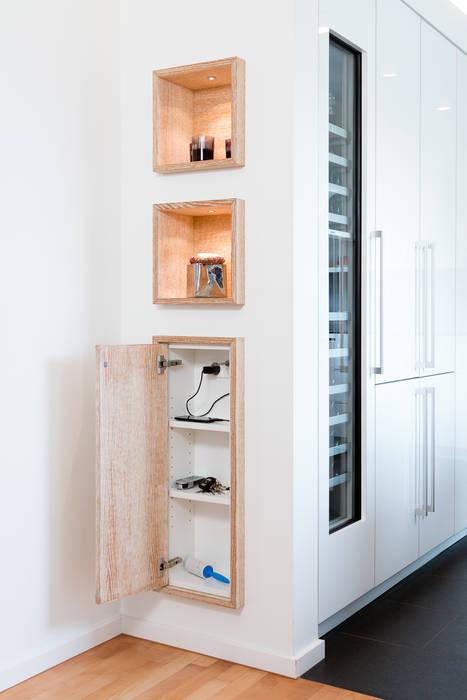 Küche Trockenbauwand | Einschubschranke In Trockenbauwand Moderne Kuche Von Klocke