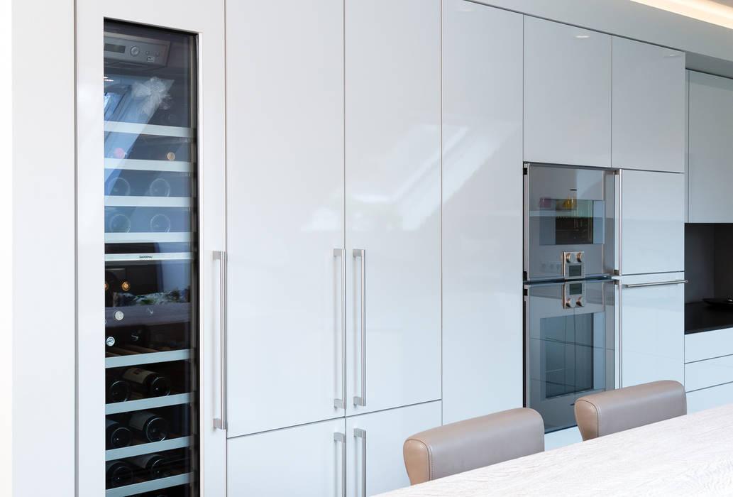 Hochschränke mit weinkühlschrank moderne küchen von klocke ...