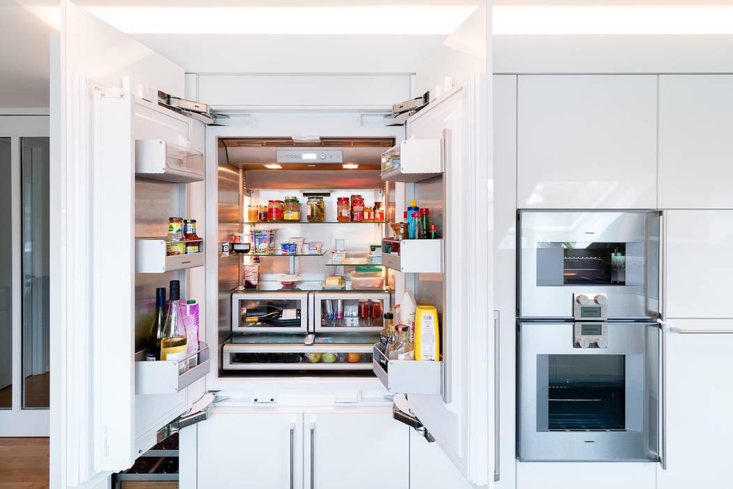 Amerikanischer Kühlschrank Günstig : Amerikanischer kühlschrank vollintegriert küche von klocke