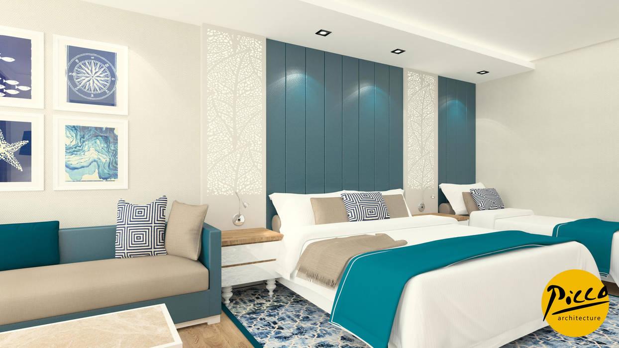 Baia Hotel Pıcco Desıgn & Archıtecture Akdeniz Yatak Odası