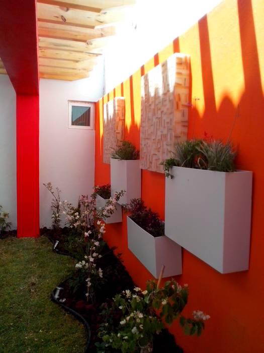 Jardines de estilo  por Arqca,