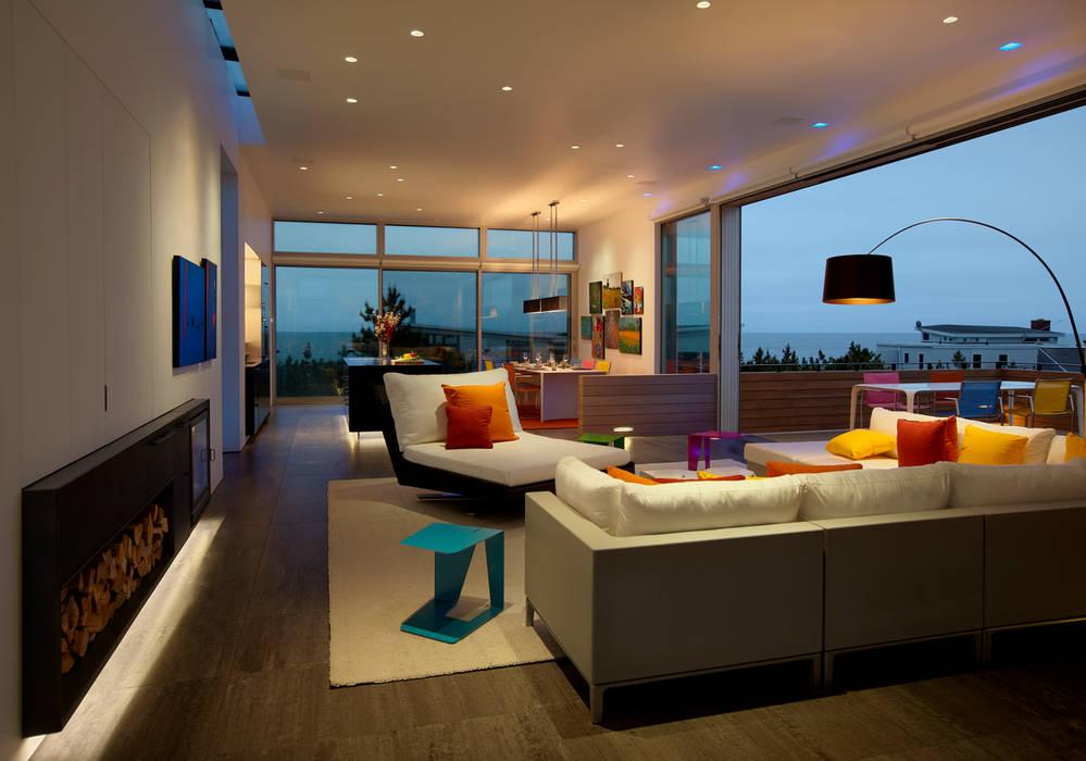 Salas de estar modernas por SPG Architects Moderno