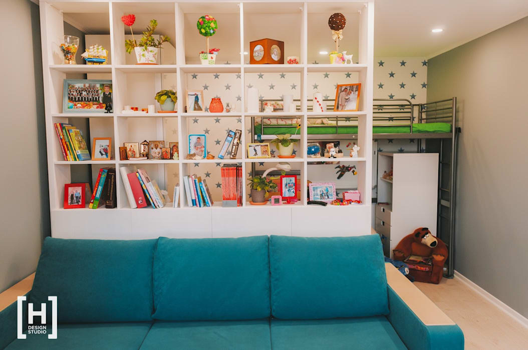 Hunter design Living room Turquoise