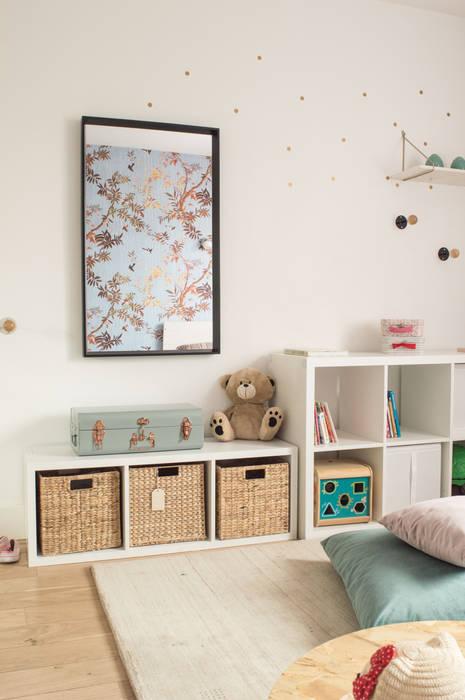 Madame bleu: chambre d\'enfant de style par colombe marciano | homify