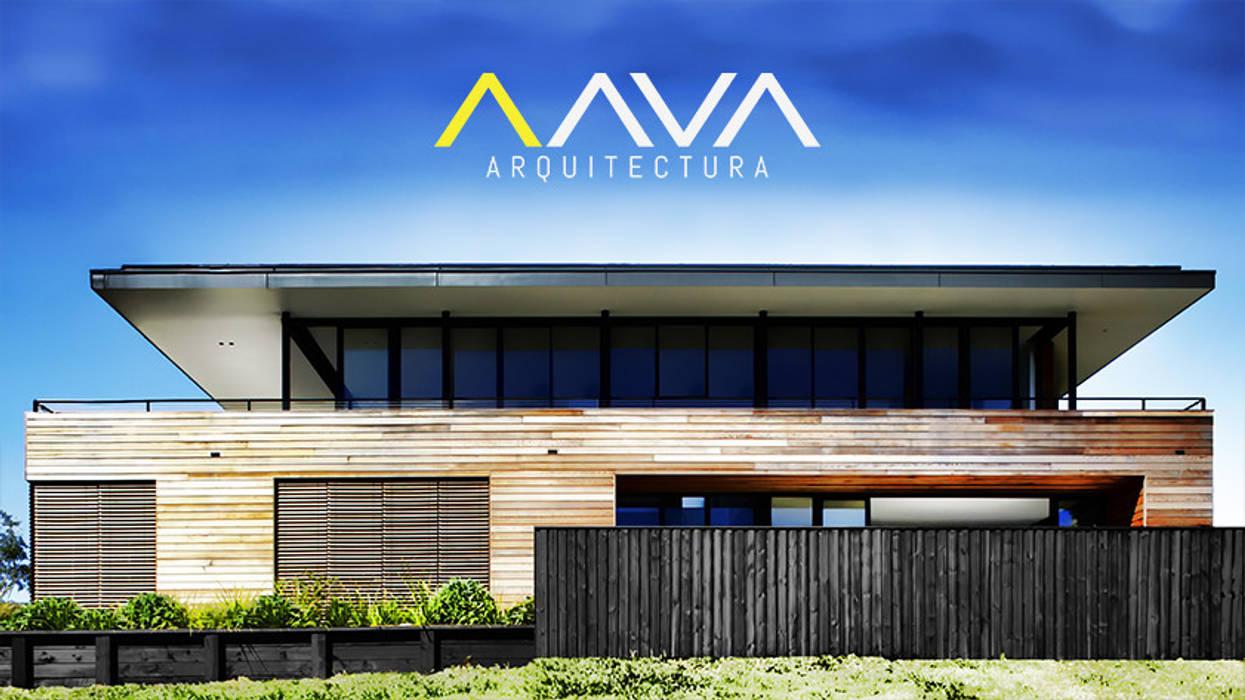 Exterior de AAVA Arquitectura Moderno