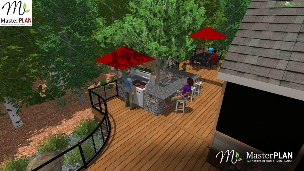 3D Rendering MasterPLAN Outdoor Living