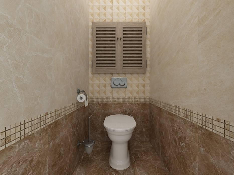 Dstudio.M Salle de bain classique Beige