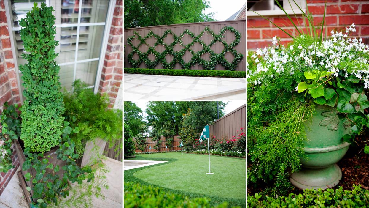 Jardines de estilo ecléctico de Matthew Murrey Design Ecléctico
