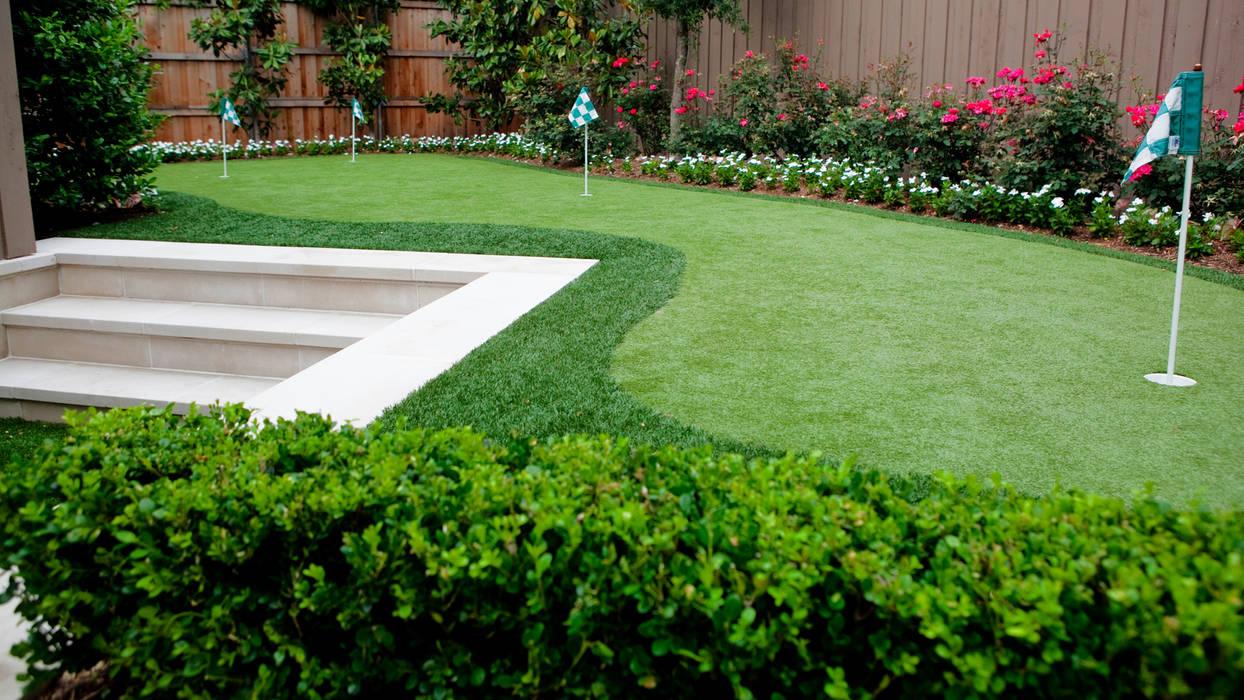 Eclectic style garden by Matthew Murrey Design Eclectic
