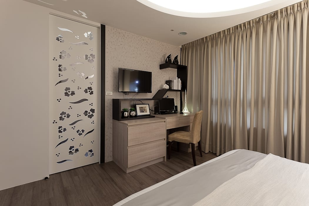 孝親房-2:  臥室 by Green Leaf Interior青葉室內設計