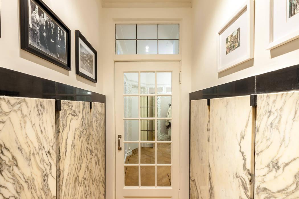hal Moderne gangen, hallen & trappenhuizen van Aangenaam Interieuradvies Modern